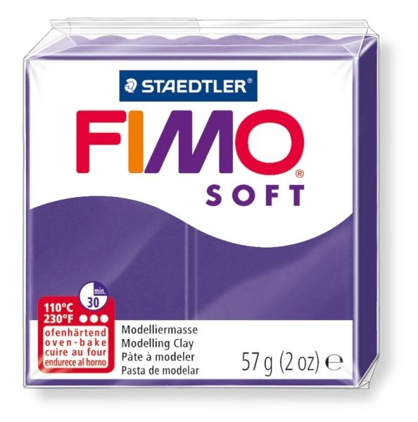 Masa termoutwardzalna Fimo soft fiołkowy (8020-63)
