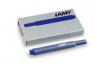 Naboje Lamy 5 sztuk T10 niebieskie