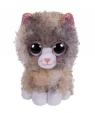 Beanie Boss - brązowo - szary Kot 15 cm