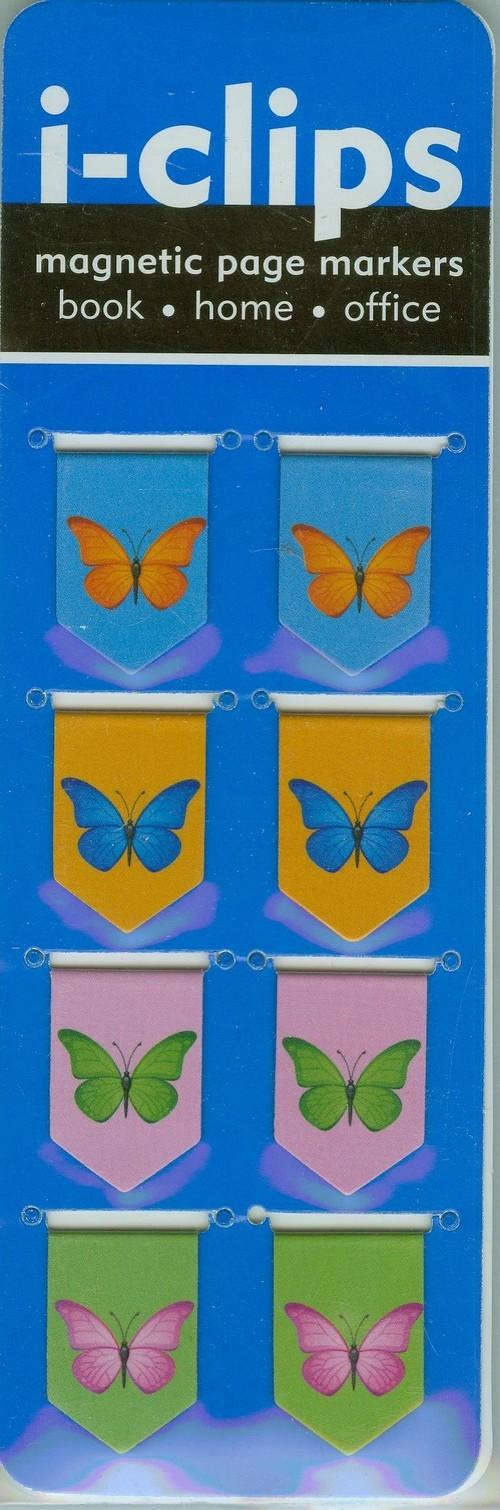 b48b9c4b926eb5 Zakładka magnetyczna Motyle - - Peter Pauper Press - Księgarnia ...