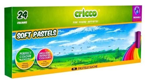 Pastele suche Cricco 24 kolory (CR491K24)