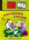 Kolorowe safari z magnesami