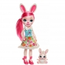 Enchantimals - Duża Lalka Bree Bunny i zwierzątko króliczek Twist
