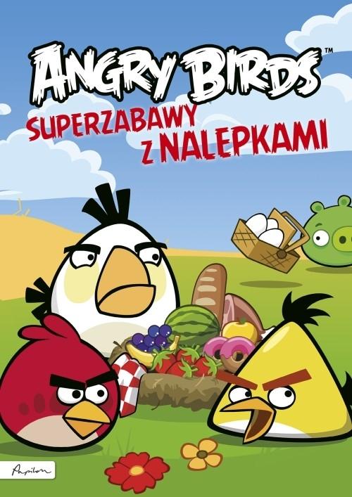 Angry Birds Superzabawy z nalepkami