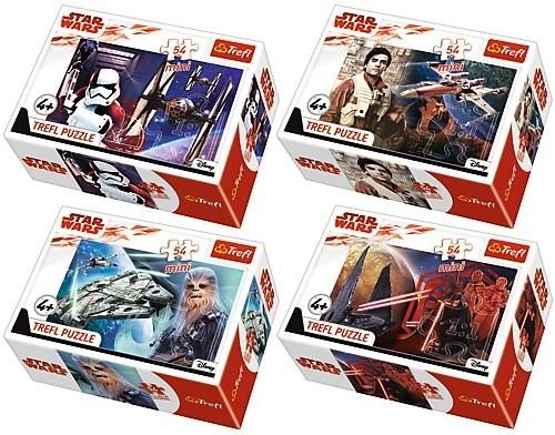 54 elementów Mini/40 sztuk Star Wars Ostatni Jedi (54162)