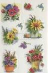 Naklejki A ozdobne Kwiaty