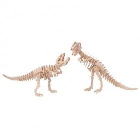 Łamigłówka drewniana Gepetto - 2 Tyranozaury Wiek: 6+