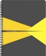 Kołonotatnik Leitz  A4# PP żółty 44950015