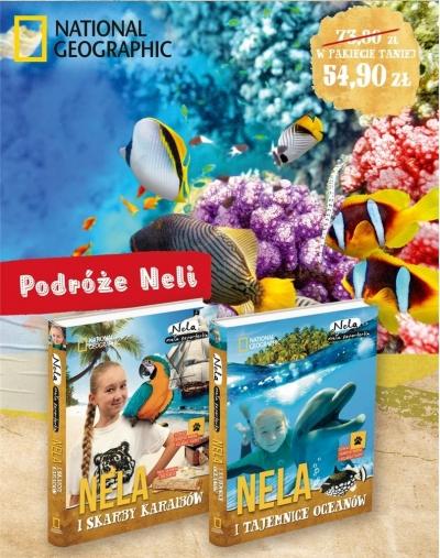 Pakiet 3:Nela i skarby Karaibów/Nela i tajemnice oceanów Nela Mała Reporterka