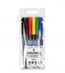 Cienkopisy - 6 kolorów