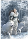 Puzzle 1000 Anne Stokes Collection Winter G (39477)