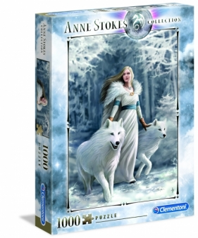 Puzzle 1000 Anne Stokes Collection: Winter Guardians (39477)