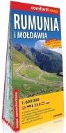 Rumunia i Mołdawia laminowana mapa samochodowa 1:800 000