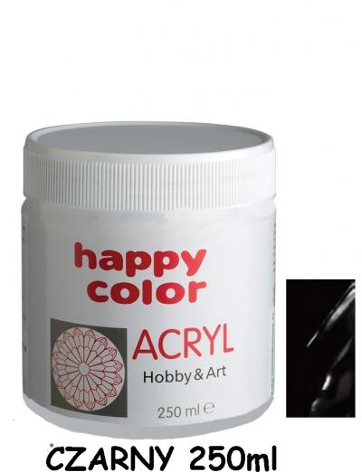 Farba akrylowa 250ml czarny (7370 0250-9)
