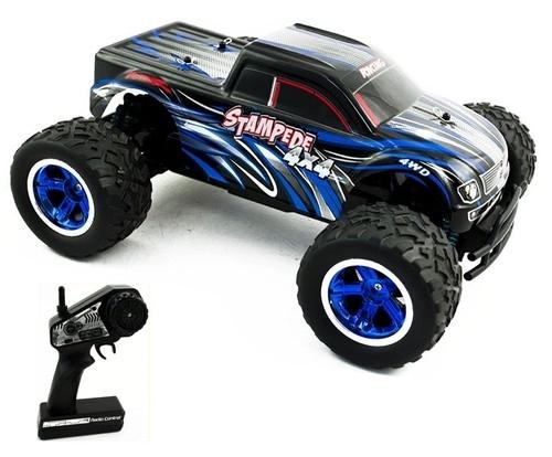 Monster Truck Gruff Destroy zdalnie sterowany niebieski