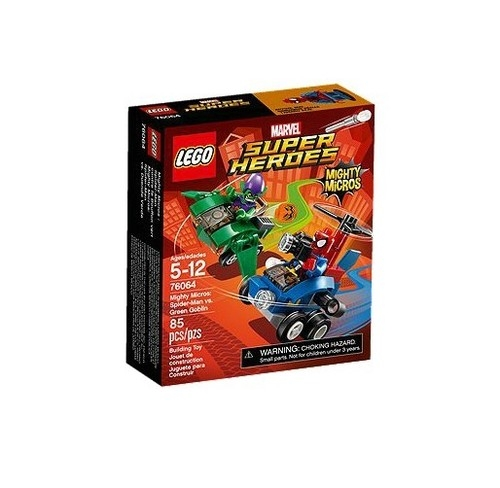 Lego Super Heroes Spiderman kontra Zielony Goblin (76064)