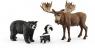 Mieszkańcy lasów Ameryki Północnej - 41456
