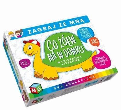 Co żółw ma w domku - Wybieranka literowa (30077)