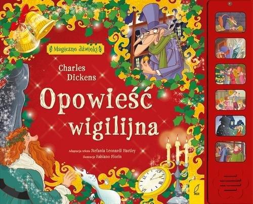Magiczne dźwięki Opowieść wigilijna (Uszkodzona okładka) Dickens Charles