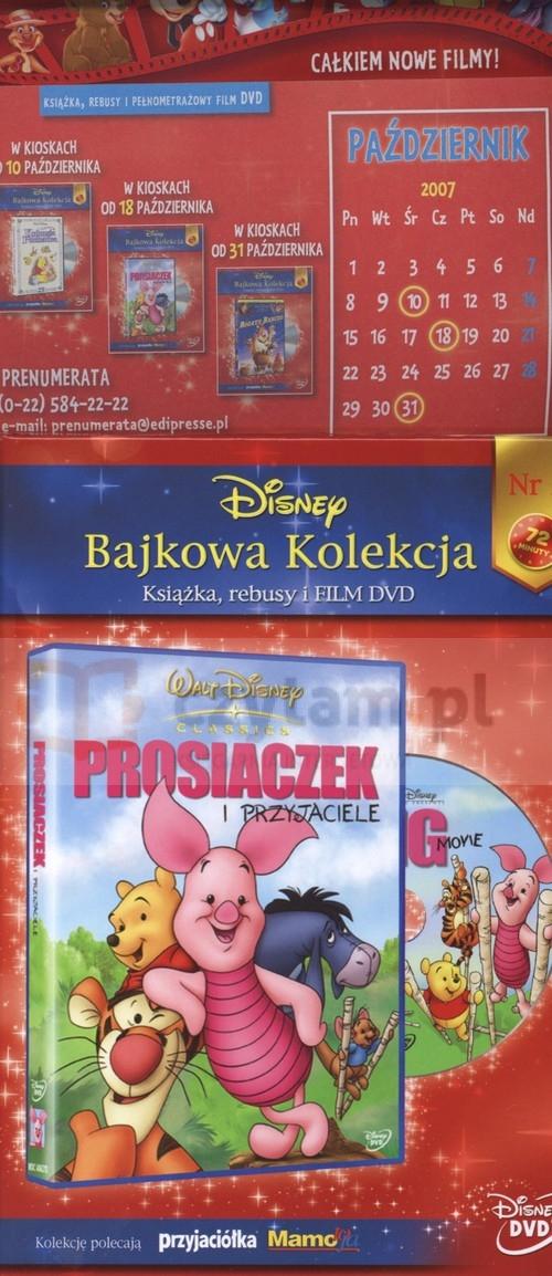 Disney Bajkowa Kolekcja 2 Prosiaczek i przyjaciele Milne Alan Alexander