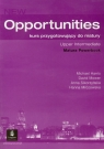 Opportunities Upper-Intermediate Matura Powerbook Kurs przygotowujący do Harris Michael, Mower David, Sikorzyńska Anna, Mrozowska Hanna