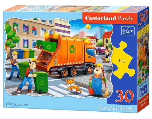 Puzzle Garbage Car 30
