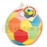 DROMADER Piłka welur mała z dzwonkiem (160090)
