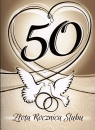 Karnet 50 rocznica ślubu RS0350