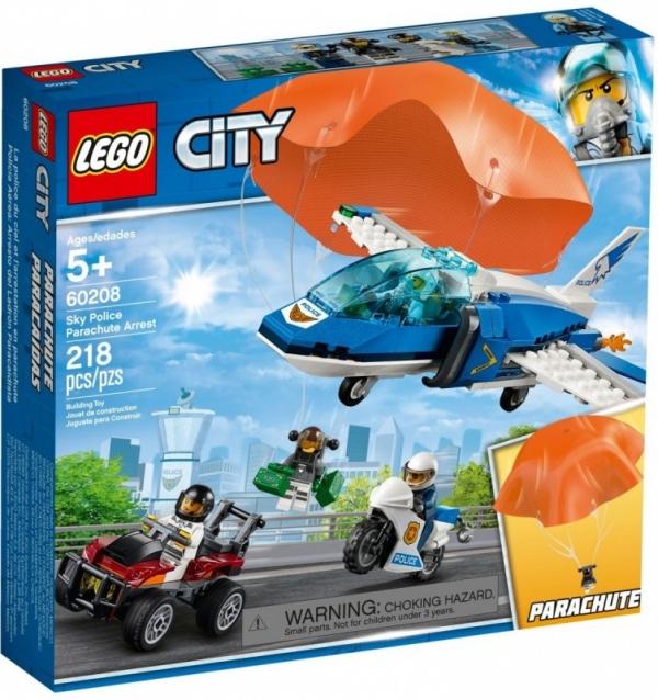 Klocki City Aresztowanie spadochroniarza (60208)