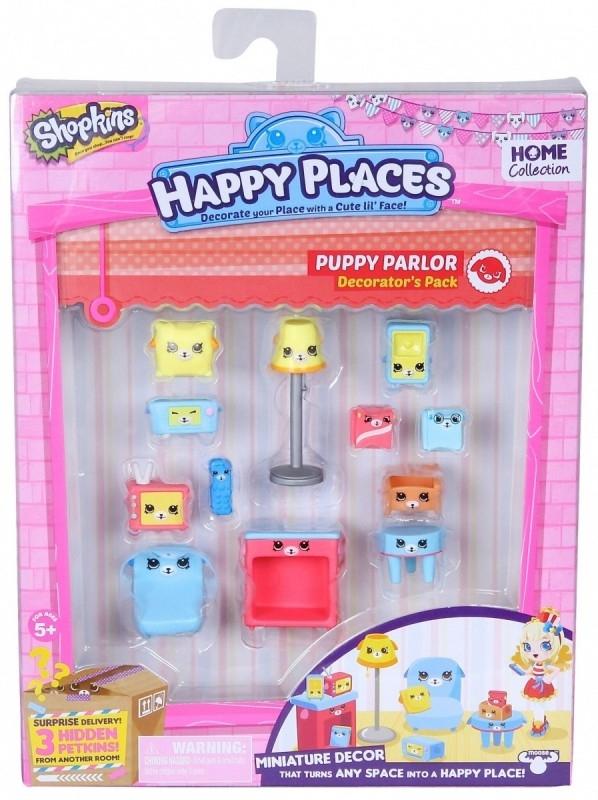 HAPPY PLACES SHOPKINS - Zestaw Dekorator Puppy Parlor (HPP56195A)