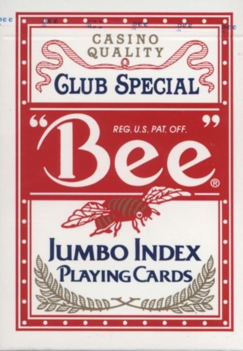 Karty do gry Bee Jumbo Index mix (1001770)