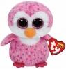 Maskotka Beanie Boos: Glider - Różowy Pingwin 15 cm (36177)