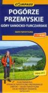 Pogórze Przemyskie Góry Sanocko-Turczańskie mapa turystyczna