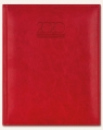 Kalendarz 2020 Książkowy B5 Plus czerwony półmat