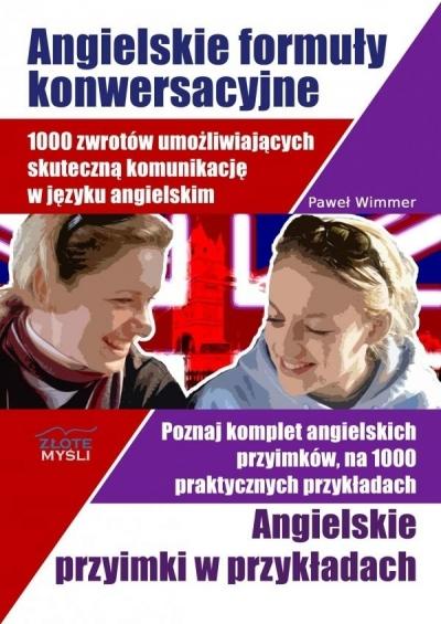 Angielskie formuły konwersacyjne + Przyimki - Paweł Wimmer - książka