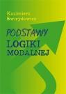 Podstawy Logiki Modalnej Kazimierz Świrydowicz