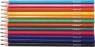 Bezdrzewne kredki ołówkowe Fun&Joy 12 kolorów