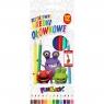 Kredki ołówkowe bezdrzewne Fun&Joy, 12 kolorów (242654)