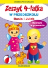 Zeszyt 4-latka Basia i Julek W przedszkolu