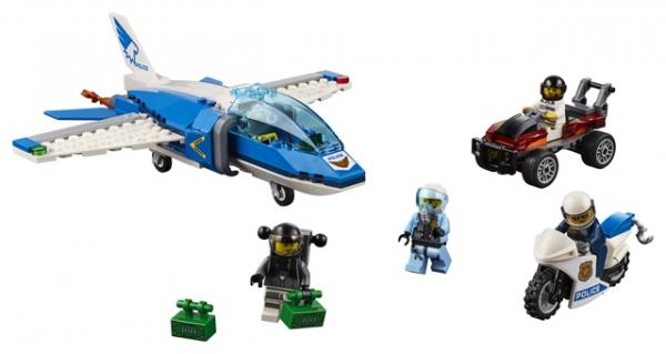 Lego City: Aresztowanie spadochroniarza (60208)