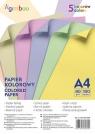 Papier kolorowy Gimboo A4 5 kolorów - 100 sztuk (14110115-99)