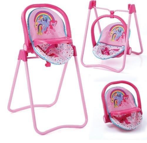 3 w 1 kszesełko, kołyska, nosidło My Little Pony (D-93078)