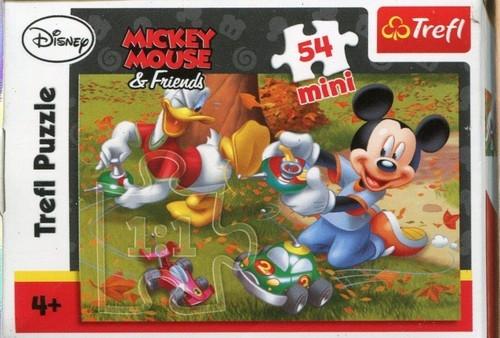 Puzzle mini. Miki 54 elementy mix (19278)