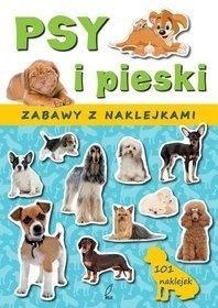 Psy i pieski Zabawy z naklejkami