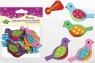 Dodatek dekoracyjny Craft-fun, piankowe ptaszki (z klejem)