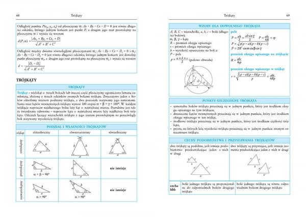 Tablice matematyczne Prucnal Beata, Gołąb Piotr, Kosowicz Piotr