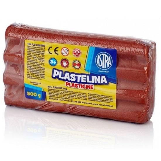 Plastelina metaliczna Astra, 500g - miedziana (303117016)