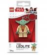 Brelok do kluczy z latarką LEGO: Star Wars - Yoda (LGL-KE11)