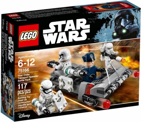 Star Wars - Śmigacz Transportowy Najwyższego Porządku (75166)