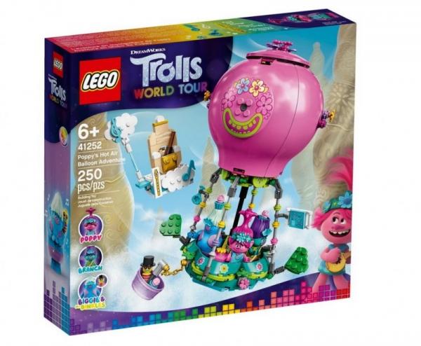Klocki Trolls Przygoda Poppy w balonie (41252)